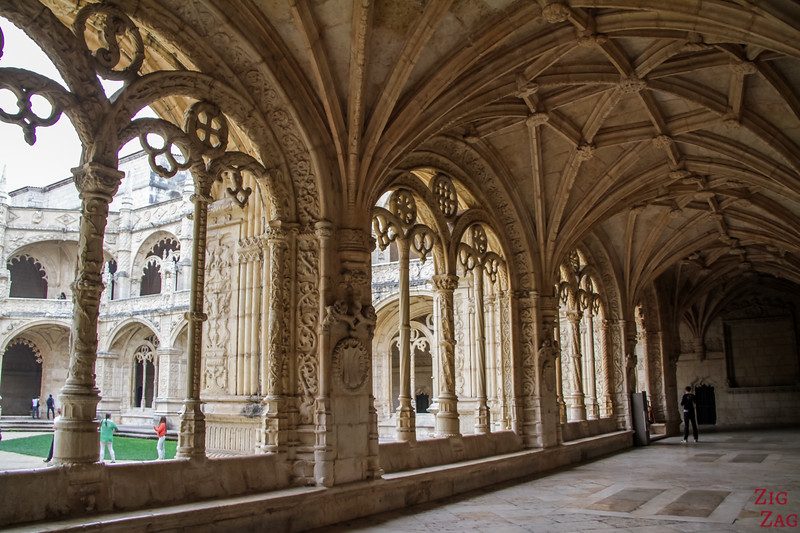 Things to do in Belem Lisbon - Jeronimos monastery cloister