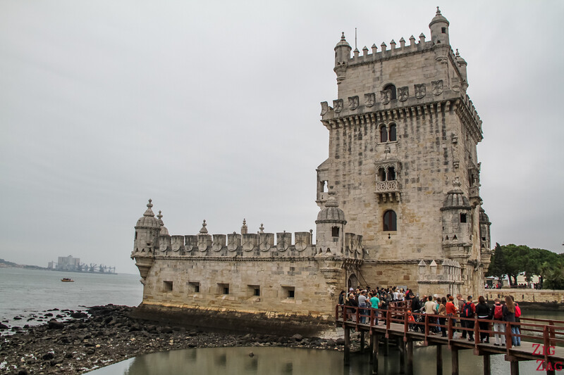 Visit Belem Lisbon - Belem tower side view