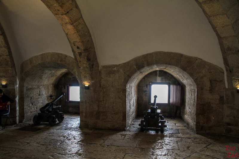 Inside the Tower of Belem Lisbon