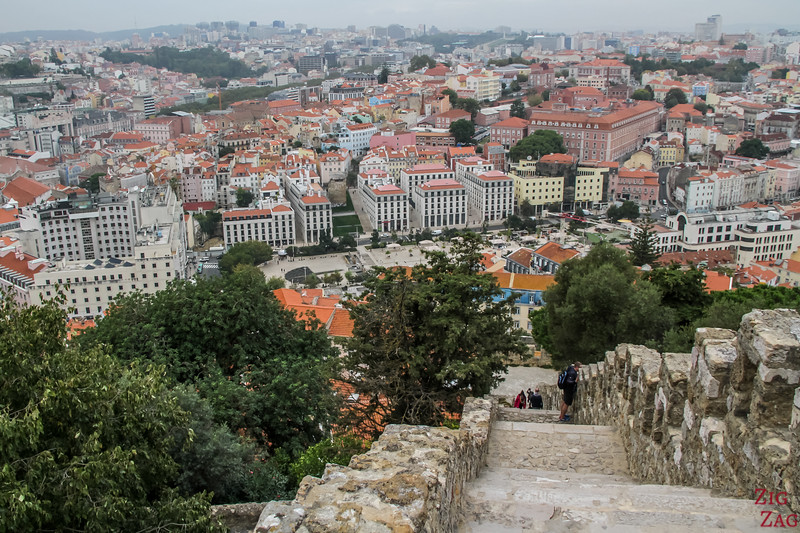 Exploring the Lisbon Castle of Sao Jorge 5