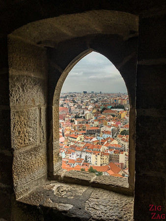 Exploring the Lisbon Castle of Sao Jorge 8