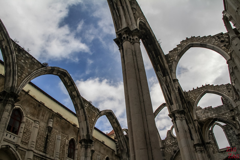 Ruins of Carmo Church Lisbon 2