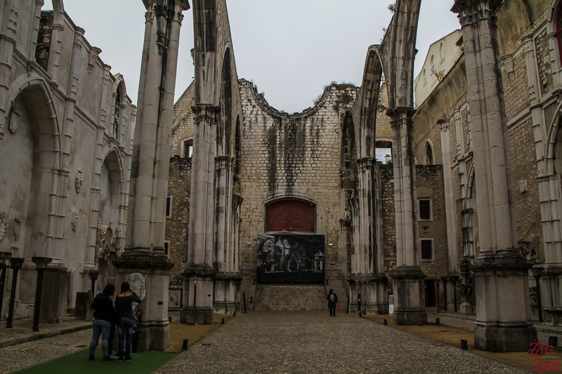 Ruins of Carmo Church Lisbon 5