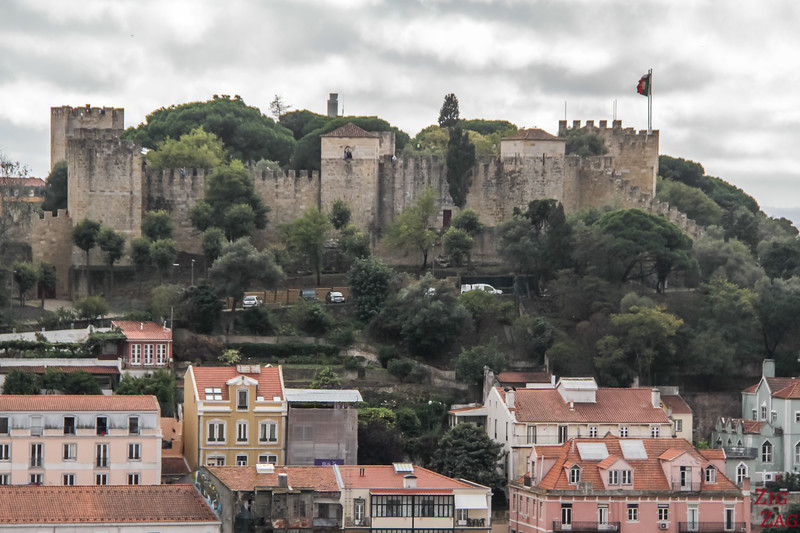 Views of Lisbon Castle of Sao Jorge 1