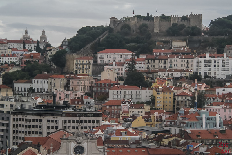 Views of Lisbon Castle of Sao Jorge 3
