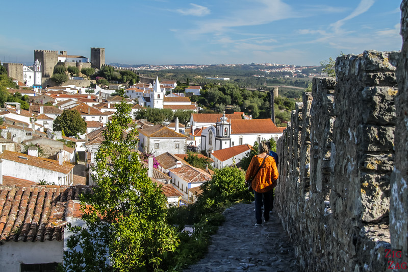 Walking walls of Obidos 2