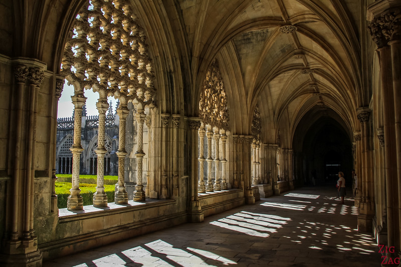 Visiting the Batalha Monastery, Portugal