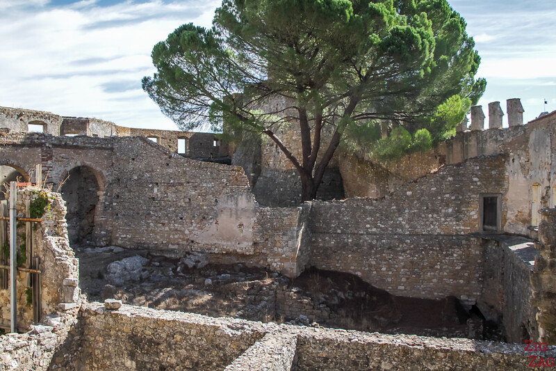 Ruines chateau tomar