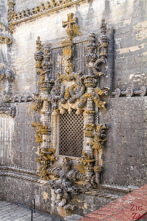 Main Cloister Convent of Christ Tomar Portugal Manueline Window