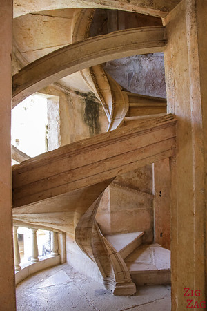 Main Cloister Convent of Christ Tomar Portugal stairs 2