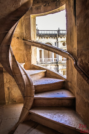 Main Cloister Convent of Christ Tomar Portugal Stairs 1