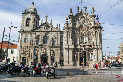 Porto vs Lisbon - Monuments church