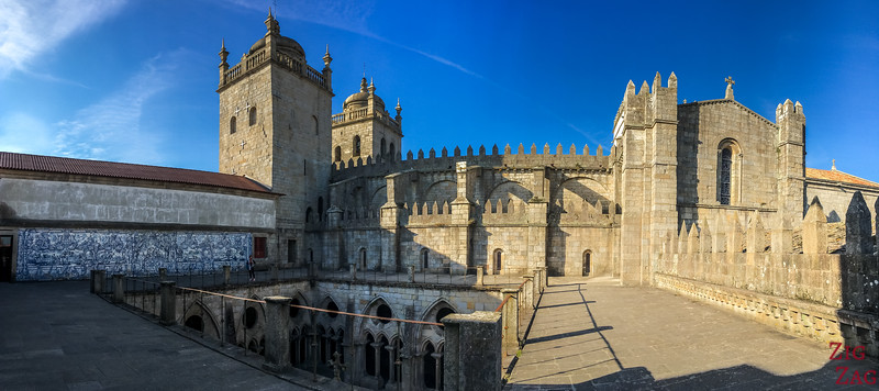 Top cloister Porto Cathedral 2
