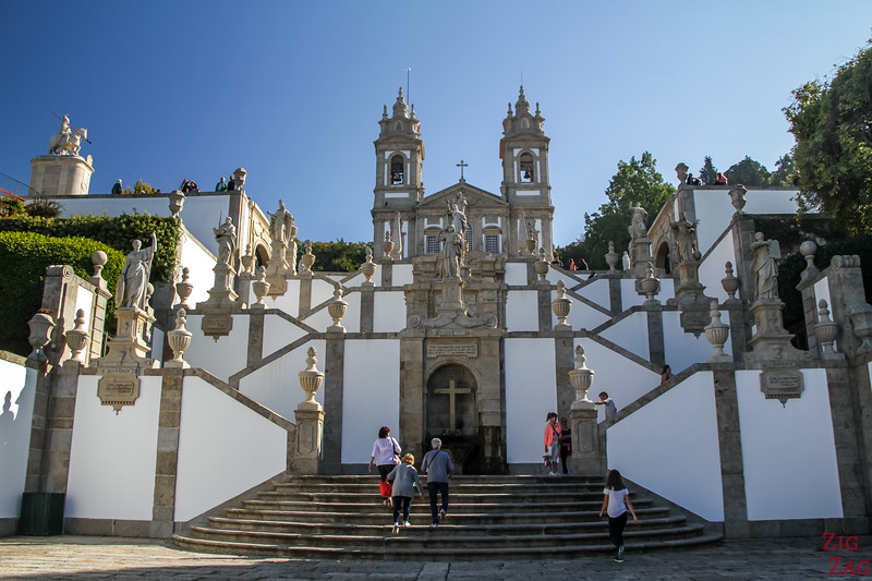Staircase of Bom Jesus Braga Portugal 1