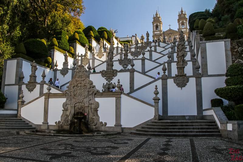 Staircase of Bom Jesus Braga Portugal 2