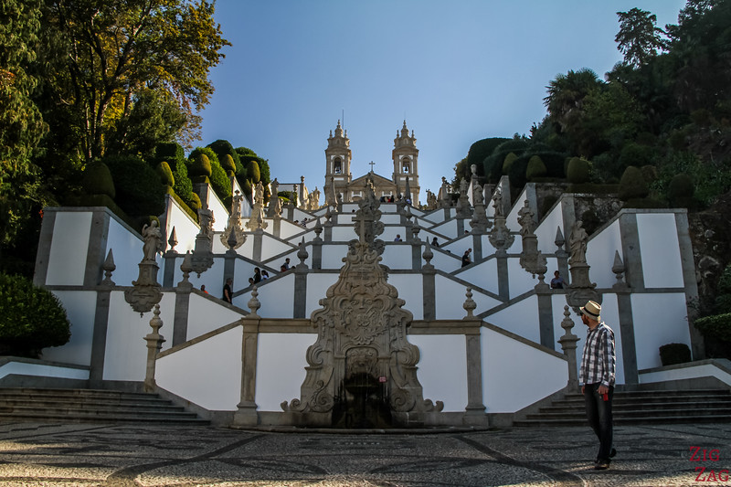 Staircase of Bom Jesus Braga Portugal 3