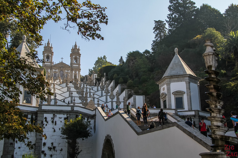 Staircase of Bom Jesus Braga Portugal 4