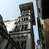 Elevator de Santa Justa built by a pupil of Eiffel