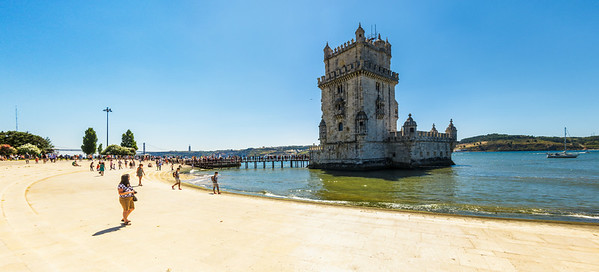 Belém Tower on the Tagus River