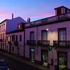 View from Balcony of Room #106, Hotel Camoes, Ponta Delgada, Sao Miguel Island (Azores)