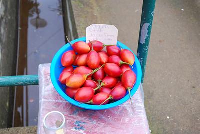 Levada do Castelejo (Referta) - 6K 25 December 2011 Tomatoes - 10c each.