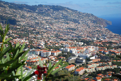 Funchal - capital city of Madeira 21 December 2011