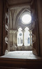 012  Oporto, Binnenplaats klooster bij kathedraal