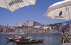 004  Oporto, Portboten en Sandeman-parasols
