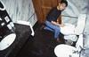 015  Viana do Costello, Casa Melo Alvim, Houw opent het toilet