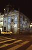 011  Oporto, Rua de Fernandes Tomas, Azuleos-kerk bij nacht