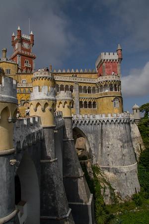 Portugal: Obidos, Queluz, Pena, Cascais