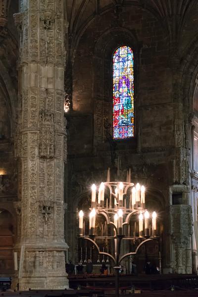 Church Santa Maria de Belém Interior