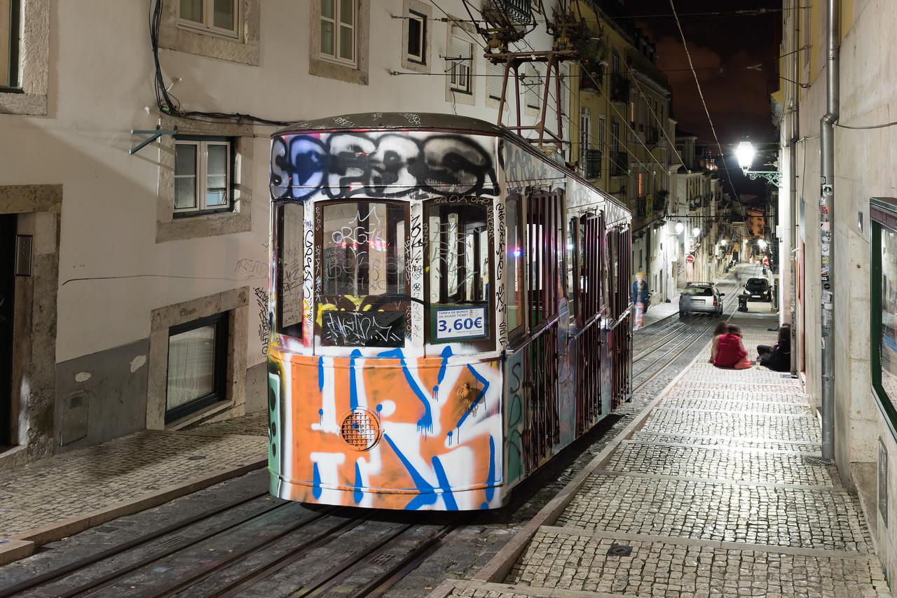 Bica Funicular - Lisbon, Portugal
