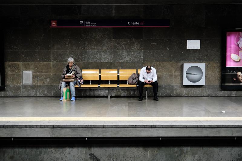Lisbon, Portugal Subway