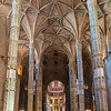 Church Santa Maria de Belém Interior, Jeronimos Monastery