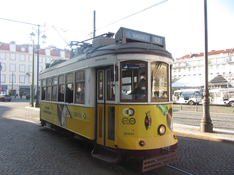 Lisbon refurbished some old trolleys.  Tourists like me use them to get a tour of parts of the city but local citizens use them as a convenient way to get to locations far from metro stations.