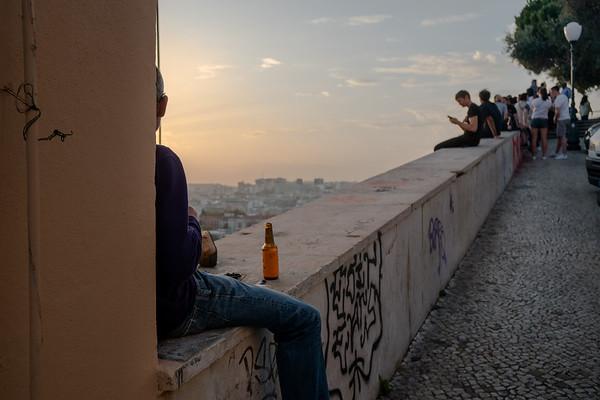 Miradouro da Nossa Senhora do Monte, Lisbon, Portugal