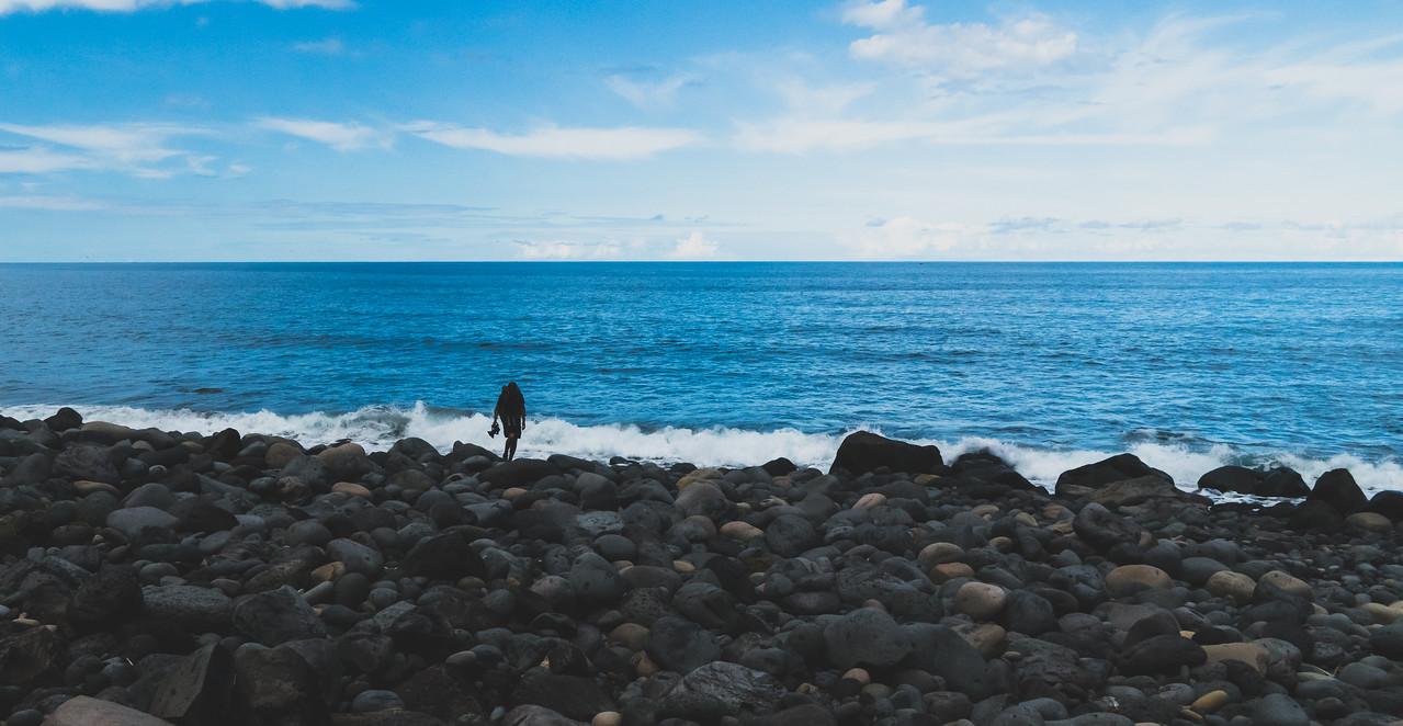 Zona Balnear da Foz das Coelhas, Salga, São Miguel Island, Azores, Portugal