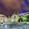Rossio Square - Lisbon, Portugal