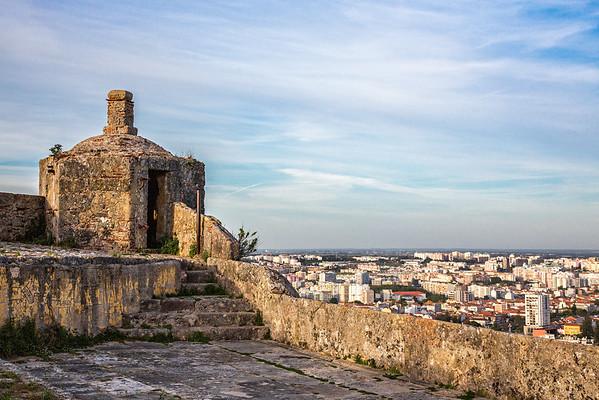Forte de Sao Filipe, overlooking Setubal, Portugal