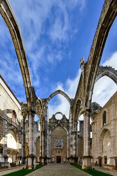 Carmo Convent - Lisbon, Portugal