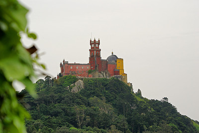 Penan palatsi Sintrassa. - The Pena National Palace at Sintra, Portugal, 2007