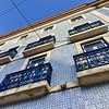 Tiles of Lisbon Building Facade