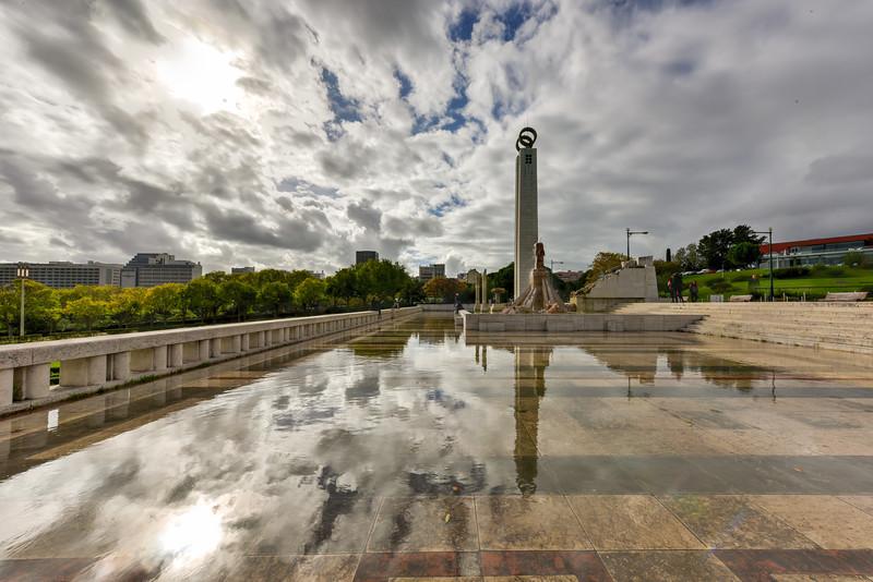 Eduardo VII Park - Lisbon, Portugal