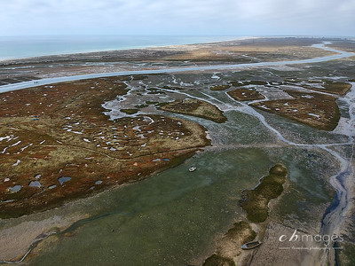 Ria Formosa from the air