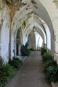 Palacio da Pena, Sintra - The entrance into the palace.