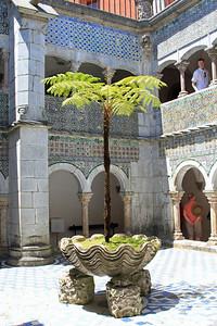 Palacio da Pena, Sintra - Central courtyard.
