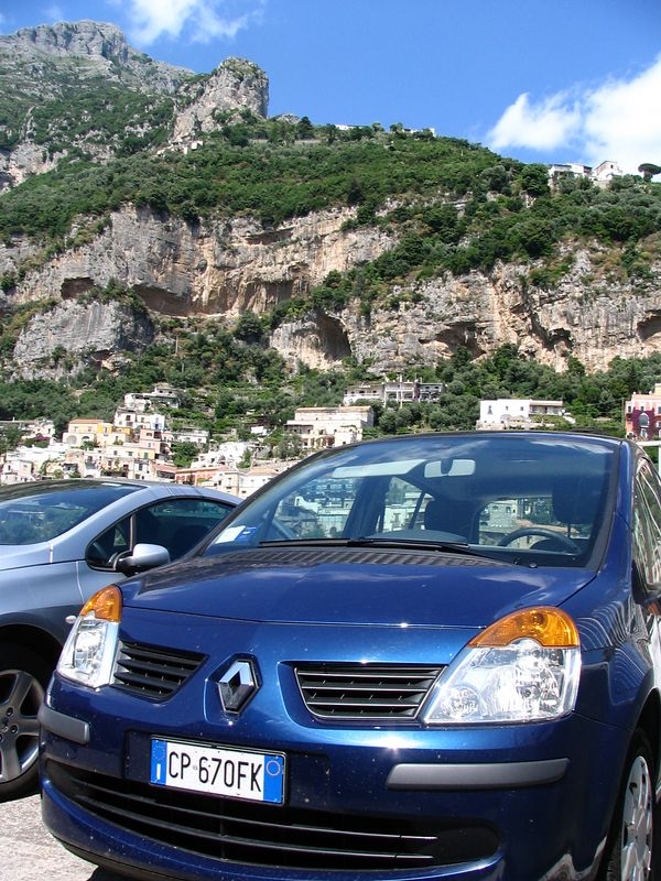 our mighty mouse rental -- a Renault Modus