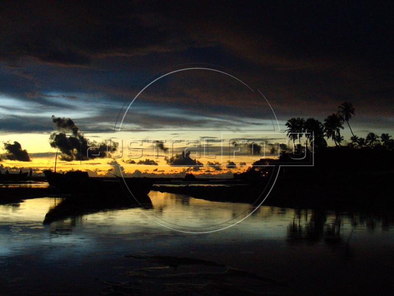 Sunset in Jericoacoara, in Brazil's northeastern Ceara state.(Australfoto/Douglas Engle)