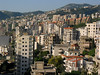 Highrises cling to the mountain in Jounie, a majority Christian city near Beirut.(Australfoto/Douglas Engle)